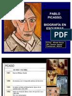 Pablo Picasso. Biografía en esquema.