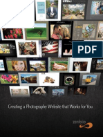 Zenfolio Book for Photographers