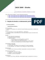 Resumo Bibliografia Direito Cacd2009
