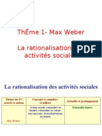 thème 1- max weber