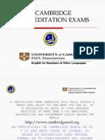 Cambridge Exams 2009