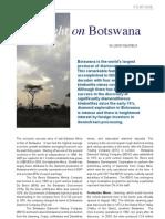 Spotlight on Botswana - Diamonds