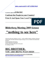 Bilderberg Meeting 2009 Greece Complete Members List