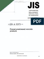 JIS A 5373-2004