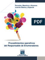 Manual Del Responsable de Enumeradores