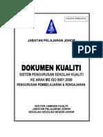 Cover Fail Manual Kualiti Spsk