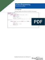 2.2 Module 2 Basic Java Programming Language