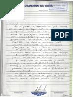 Anexo h - Cuaderno de Obra