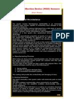 Machine Olfaction Device (MOD) Sensors (Part Three)