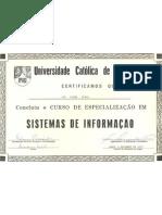 CERTIFICADO UNICAP - Sistemas de Informação