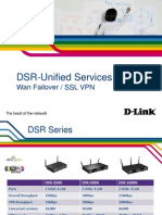 Webinar DSR Wan Failover y SSL-VPN