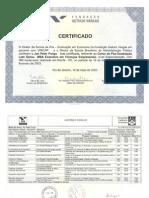 CERTIFICADO FGV - MBA Executivo Finanças