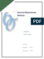 Six Sigma Term Project_elective Selection Process at Ximb