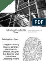 leadership academy presentation october 8th