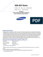 Instructivo Samsung Sgh-i637