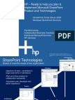 Hp Collaboration Portal Solutions