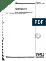 No 7 - BS 812 - Part 111 1990 - Determine 10 Percent Fines Value