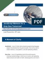 Javascript malware
