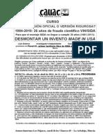 110416 Murcia Curso Desmontar El Sida