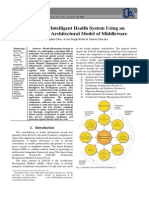 Building an Intelligent Health System Using an Evolutionary Architectural Model of Middleware