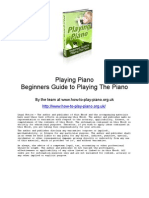 Piano Lessons - Learn How to Play Piano Course