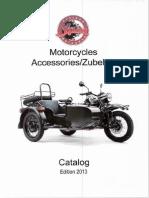 Ural Accessoires2013