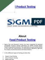 Laboratory Food Testing