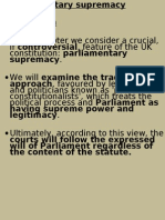 chapter 03 0 parlimentary supremacy