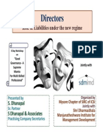 40 59102 Directors Role Liabilities