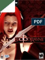 bloodrayne manual