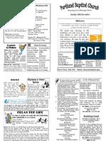 PBC Bulletin - December 29