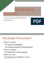 Pronunciation in English