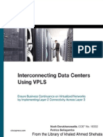 Cisco Press Interconnecting Data Centers Using VPLS