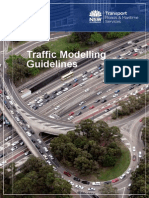 Traffic Modelling Guidelines