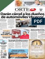 Periódico Norte edición impresa día 31 de diciembre 2013