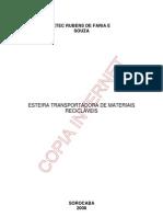 ESTEIRA TRANSPORTADORA
