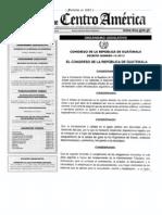 Decreto Numero 13-2013