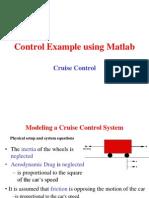 Control Example Using Matlab