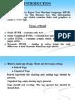 HTML - Slide Presentation