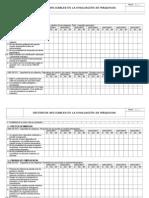 Check List adecuacion al RD. 1215