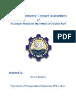 EIA Report of gawadar port