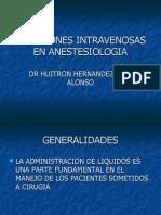 Soluciones Intravenosas en Anestesiologia