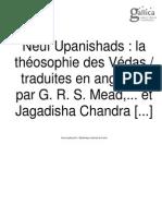 Neuf Upanishads