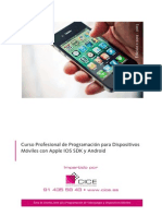 Curso Profesional de Programacion Para Dispositivos Moviles Con Apple Ios Sdk y Android