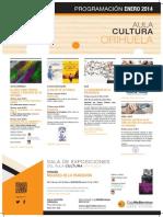 Aula Cultura Orihuela. Programación. Enero 2014