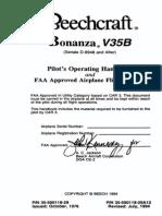 Beechcraft Bonanza V35B POH