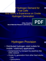 Nature of Hydrogen Demand for Fuel Cells
