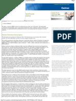 Magic Quadrant for Data Warehouse Database Management Systems