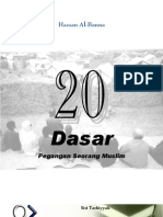 20 Dasar Pegangan Seorang Muslim