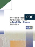 D D Deco Treatment eBook Decorative Treatments for Concrete Floors: